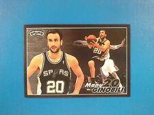 2009-10 Panini NBA Basketball n.361 Manu Ginobili San Antonio Spurs