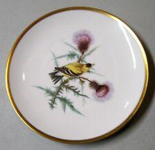Hutschenreuther Audubon Goldfinch Salad Plate