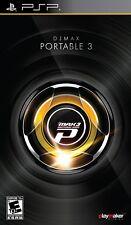 DJ Max Portable 3  (PlayStation Portable, 2010) BRAND NEW