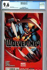 Wolverine 1A Davis Variant CGC 9.6 Near Mint+