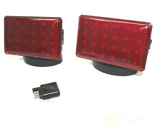 Rechargeable Wireless 48 LED Towing Light Signal Kit Truck Boat Haul Tow Lights