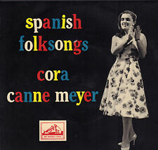 "CORA CANNE MEYER - Spanish Folksongs (VINYL EP 7"" HOLLAND)"