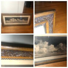 """Vintage Antique Quality Ornate  Wood Picture Frame 18"""" x 37"""" - Beautiful!!!!"""