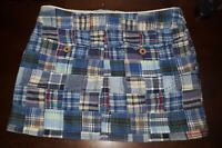 AMERICAN EAGLE OUTFITTERS AE Plaid Short Mini Skirt Size 0 SMALL S XS WAIST 30""