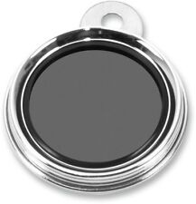 Emgo Stainless Round Classic Style Tax Disc/License Holder 86-28820 0502-0514