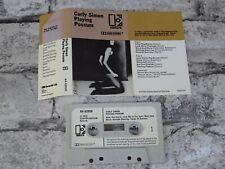 CARLY SIMON - Playing Possum (UK)   / Cassette Album Tape / 1998