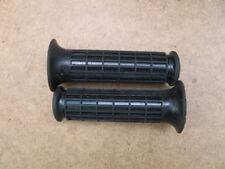 Pair Dnepr Ural Black Rubber Hand Grips Handlebar style 2