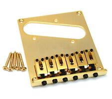 Gold Economy Modern High Mass Bridge for Fender Telecaster/Tele® GB-TEC-G