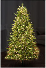 3000 LED Warm White Xmas Tree Lights with Timer, 80m