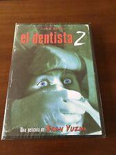 EL DENTISTA 2 - ED 1 DVD - 1998 - NUEVO EMBALADO - NEW SEALED  - 94 MIN TERROR