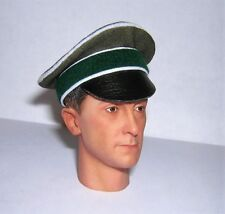 Banjoman 1:6 Scale Custom WW2 German Green Crusher Cap