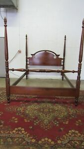Cherry Poster Bed Queen Size Frame