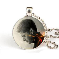 """Supernatural Dean Glass Dome PENDANT on 20"""" Chain STUNNING!!!"""
