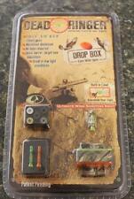 Dead Ringer Drop Box Eyes Wide Open Wing Shooting Sight Set Ribbed Shotgun CAMO!