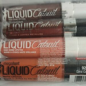 Wet n Wild Megalast Liquid Catsuit Matte Lipstick.  Multiple shades available.