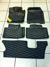 RUBBER SLUSH FLOOR MATS FRONT, REAR & 3RD ROW 11-12 DODGE DURANGO. BRAND NEW!