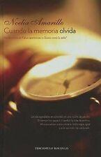 NEW Cuando la memoria olvida (Terciopelo Bolsillo) (Spanish Edition)