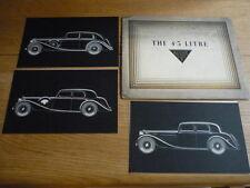 ALVIS 4.3 LITRE Prestige Brochure 1937 jm