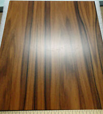"Rosewood Santos prefinished 1/4""  x 9"" x 10"" MDF board with Okuome wood back"