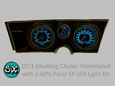 71-73 Ford Mustang Extreme Series 5X LED Gauge Cluster Light Kit - ALL