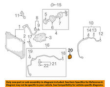 TOYOTA OEM A/C AC Condenser/Compressor/Line-Liquid Line Clamp 8871802170