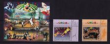 Yugoslavia - 2002 Europa (Circus) - U/M - SG 3346-7 + MS3348