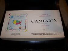 Campaign A Game of American Politics 1966 never played RARE GAME