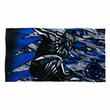 NWT Disney Store Boys Beach Towel Pool Black Panther With Bag