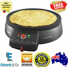Electric Crepe Maker Pancake Cooker Breakfast Grill Dessert Making Breville
