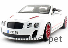 BBURAGO 2012 2013 BENTLEY CONTINENTAL SUPERSPORTS CONVERTIBLE ISR 1/18 WHITE