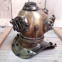 Diving Divers Helmet U.S Navy Mark V Real Antique Finish Vintage Maritime Gift