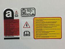 FORD Capri, motore 2.8i Decalcomania Sticker Kit