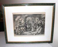 "original antique 1860 original John Gilbert engraving ""Lord Chancellor"" print"