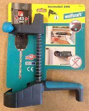 Wolfcraft Bohrhilfe tecmobil 200 Bohrständer für Handbohrmaschinen 4521000
