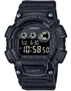 Casio W735H-1BV, Digital Watch, Countdown Timer, Stopwatch, Vibration Alarm