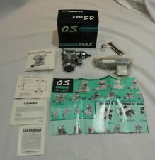 O.S. Max 40 SF 15400 RC Plane Engine In Original Box with Papers