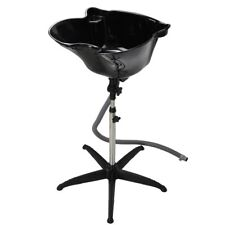 Height Adjustable Shampoo Basin Stand Hair Salon Portable Treatment Bowl Beauty