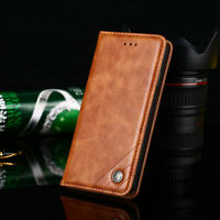 For Xiaomi Redmi Note 7 6 8 Pro 6A 4X GO Business Leather Case Flip Wallet Cover