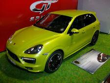 PORSCHE CAYENNE GTS 2013 vert au 1/18 GT SPIRIT GT020A voiture miniature