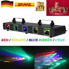 Laser Licht Strahl RGBYC DJ Bühnenbeleuchtung Disco Show 11CH DMX Projektor DE