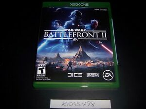 Replacement Case (NO  GAME) Star Wars Battlefront II 2 XBOX ONE 1 XB1 Original
