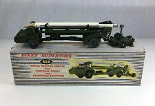 Boxed Dinky Supertoys Missile Erector Vehicle Missile & Launching Platform No666