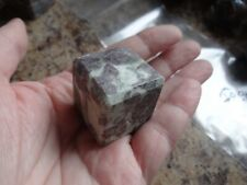 RUBY FUCHSITE Stone Gemstone Crystal Cube (1) Wiccan Metaphysical Reiki Chakra