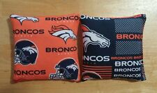 Denver Broncos Cornhole Bags Corn hole Set of 8 - FREE SHIP! It's Our 13th Year!