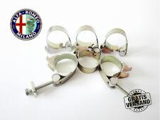 6 original ROMABLOK ALFA ROMEO FIAT FISSAGGIO morsetti MORSETTI ø18 17 - 19 mm