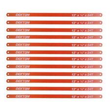 """12 x HACKSAW BLADES 12"""" METAL CUTTING BLADES 12 INCH / 300MM BLADES 24 TPI"""