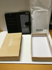 Black TUCCH Magnetic Wallet Phone Case For iphone 7/8 Plus