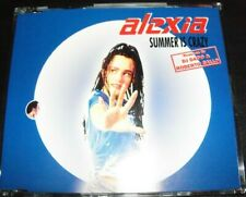 Alexia ‎– Summer Is Crazy (Remix) Remixes CD Single – Like New