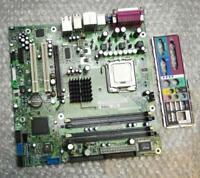 Dell M3918 0M3918 Prise 775/LGA775 Carte Mère avec Pentium4 CPU & Plaque Arrière