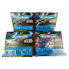 Galoob Micro Machines Star Wars Lot of 4 new micro action figures lots